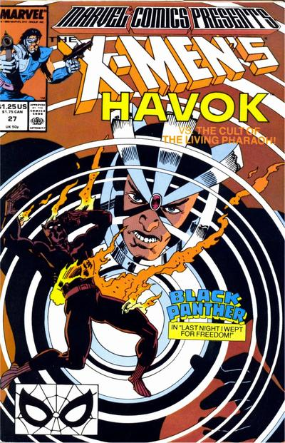 Marvel Comics Presents 27 - Havok