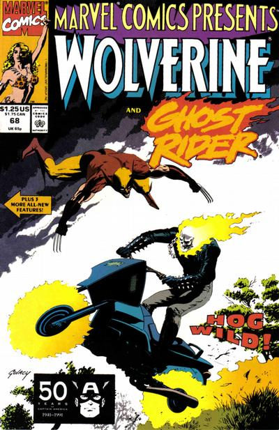 Marvel Comics Presents 68 - Wolverine, Ghost Rider