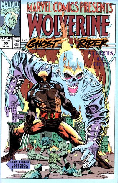Marvel Comics Presents 69 - Wolverine, Ghost Rider
