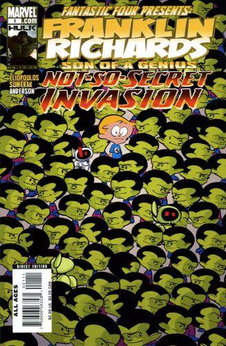 Franklin Richards - Not-So-Secret Invasion 1 - #1