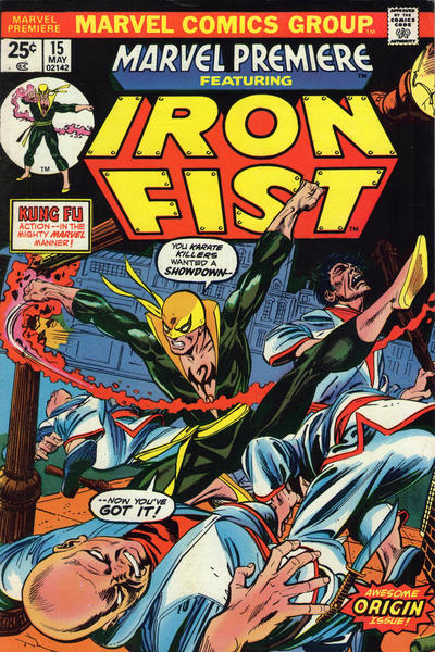 Marvel Premiere 15 - The Fury Of Iron Fist!