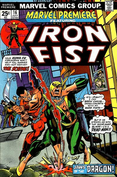Marvel Premiere 16 - Heart of the Dragon!