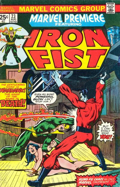 Marvel Premiere 23 - The Name Is... Warhawk