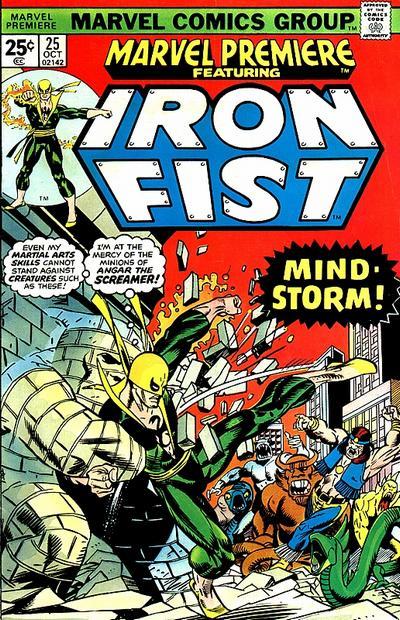 Marvel Premiere 25 - Morning of the Mindstorm!