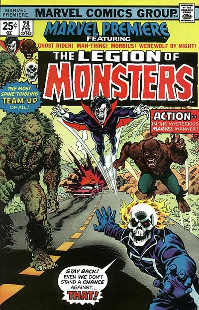 Marvel Premiere 28 - There's a Mountain On Sunset Boulevard!