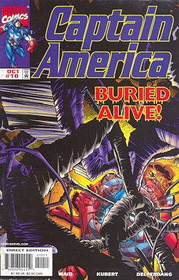 Captain America 10 - American Nightmare, Chapter Two: The Growing Darkness