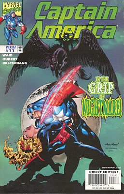 Captain America 11 - American Nightmare, Chapter Three: Finger on the Pulse