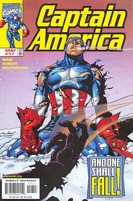 Captain America 17 - Extreme Prejudice