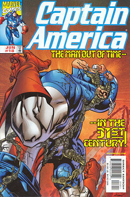 Captain America 18 - Man Out of Time