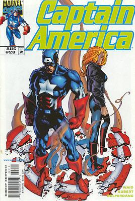 Captain America 20 - Danger in the Air!