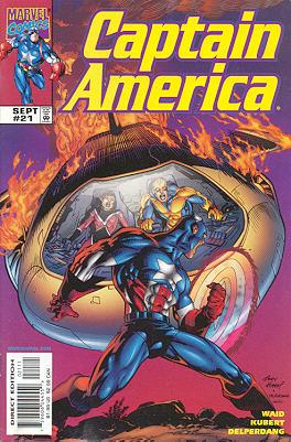 Captain America 21 - Soundquake!