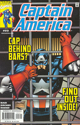 Captain America 23 - Land of the Free