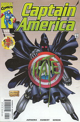 Captain America 26 - Twisted Tomorrows, Part 2 of 3