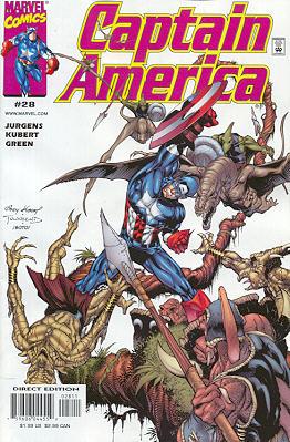 Captain America 28 - Grotesqueries