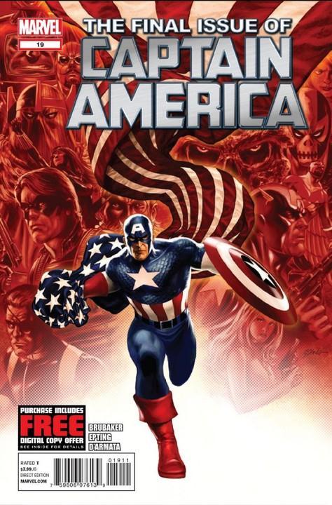 Captain America 19 - #19