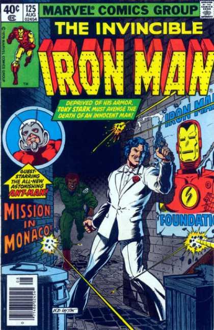 Iron Man 125 - The Monaco Prelude