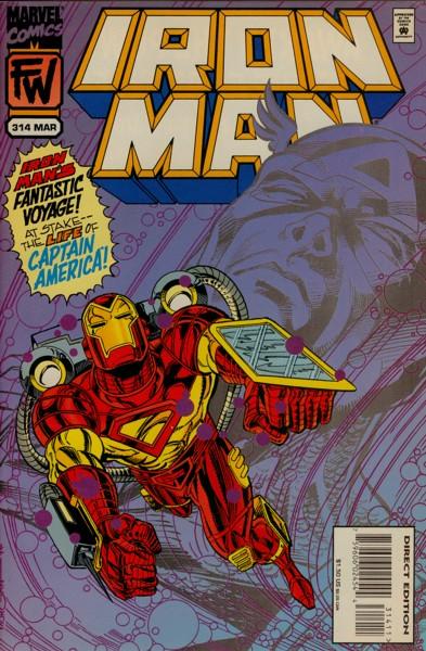 Iron Man 314 - Heroic Intervention