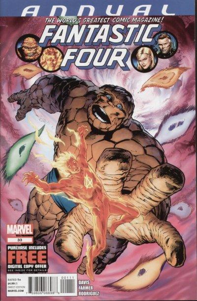 Fantastic Four 33 - 2012 : Through a Dark Glass Paradoxically