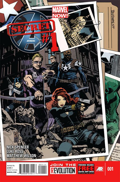 Secret Avengers 1 - #1