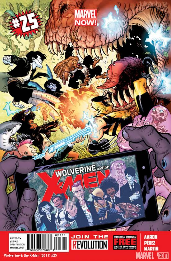 Wolverine And The X-Men 25 - #25