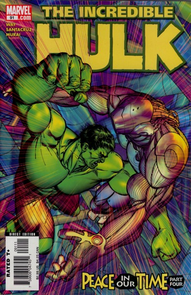 The Incredible Hulk 91 - Peace in Our Time, Part Four