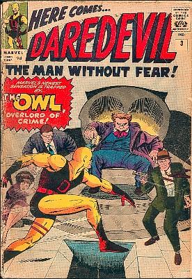 Daredevil 3 - Daredevil Battles The Owl, Ominous Overlord Of Crime