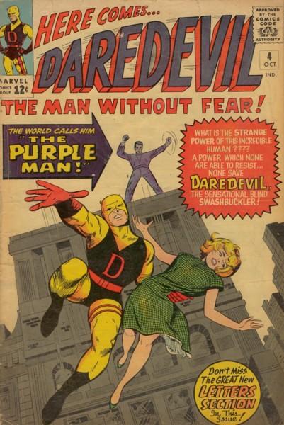 Daredevil 4 - Killgrave, The Unbelievable Purple Man!