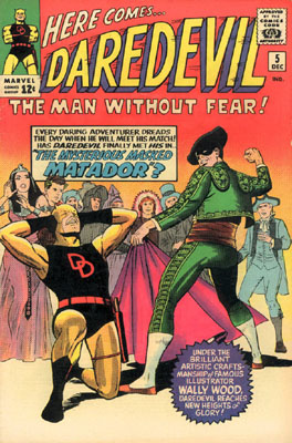 Daredevil 5 - The Mysterious Masked Matador!