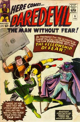 Daredevil 6 - Trapped By... The Fellowship Of Fear!