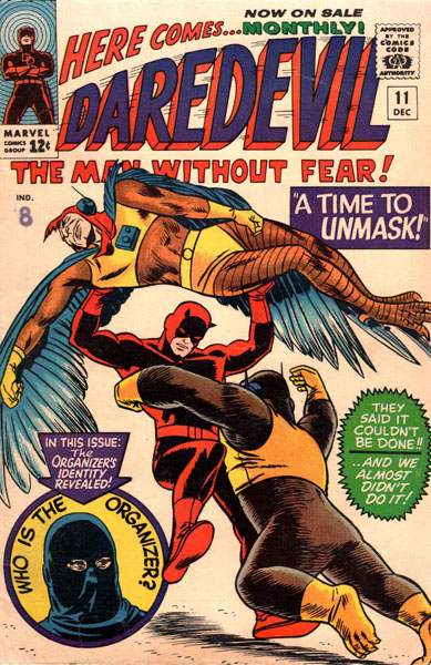 Daredevil 11 - A Time To Unmask!