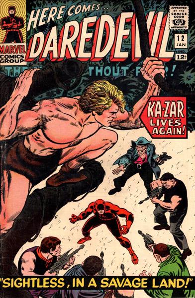 Daredevil 12 - Sightless In A Savage Land!