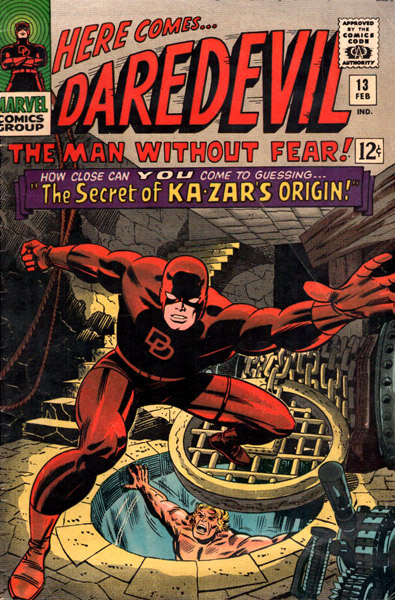 Daredevil 13 - The Secret Of Ka-Zar's Origin!
