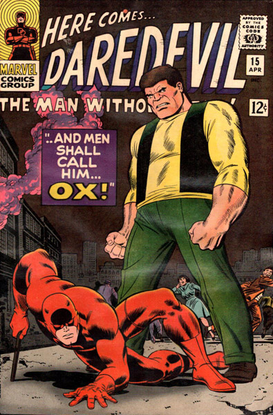 Daredevil 15 - -- And Men Shall Call Him ... Ox!