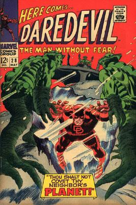 Daredevil 28 - Thou Shalt Not Covet Thy Neighbor's Planet!