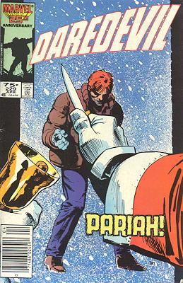 Daredevil 229 - Pariah!