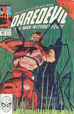 Daredevil 262 - ...I found me in a gloomy wood, a stray...