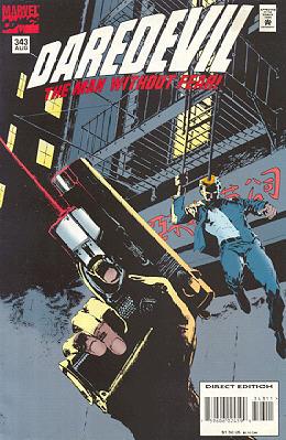 Daredevil 343 - Recross