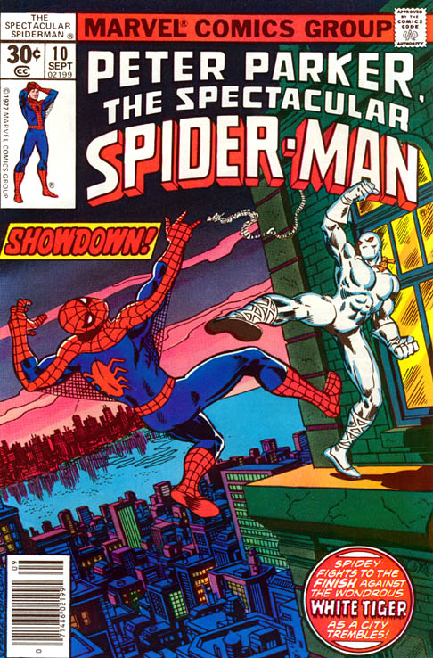 Spectacular Spider-Man 10 - Tiger In A Web!