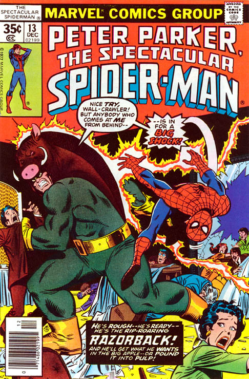 Spectacular Spider-Man 13 - ...The Coming Of Razorback!