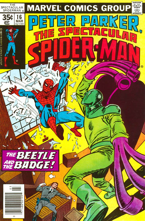 Spectacular Spider-Man 16 - The Beetle and The Badge!