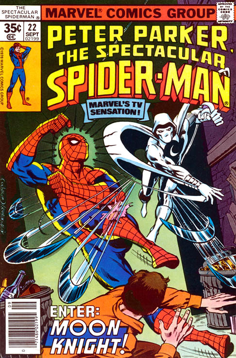 Spectacular Spider-Man 22 - By the Light of the Silvery Moon Knight!