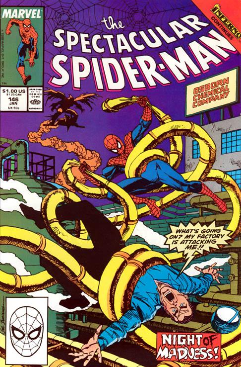 Spectacular Spider-Man 146 - Demon Night