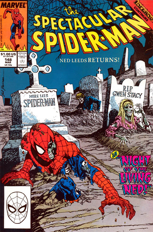 Spectacular Spider-Man 148 - Night of the Living Ned!