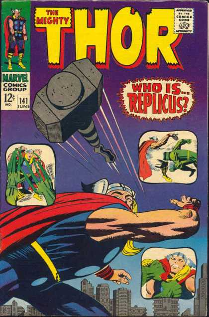 Thor 141 - The Wrath of Replicus