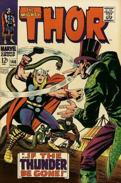 Thor 146 - -- If the Thunder Be Gone!