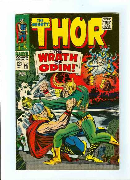Thor 147 - The Wrath of Odin!