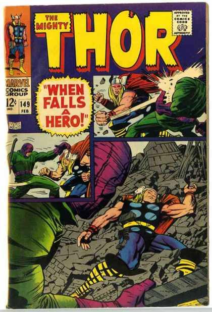 Thor 149 - When Falls a Hero!