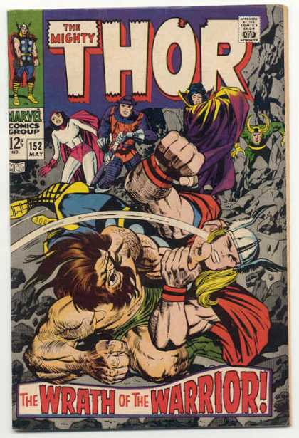 Thor 152 - The Dilemma of Dr. Blake!