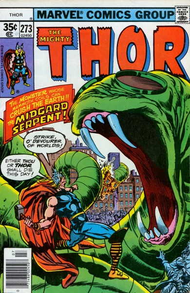 Thor 273 - Somewhere -- Over the Rainbow Bridge!