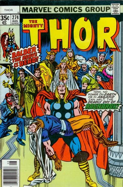 Thor 274 - The Eye -- and the Arrow!